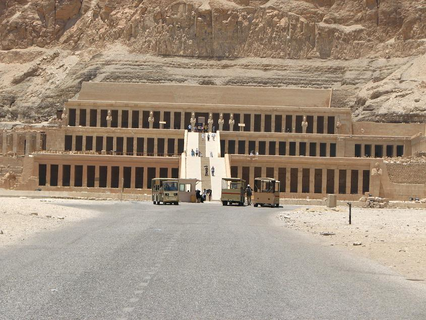 Заупокойный храм Хатшепсут в Дейр-эль-Бахри!